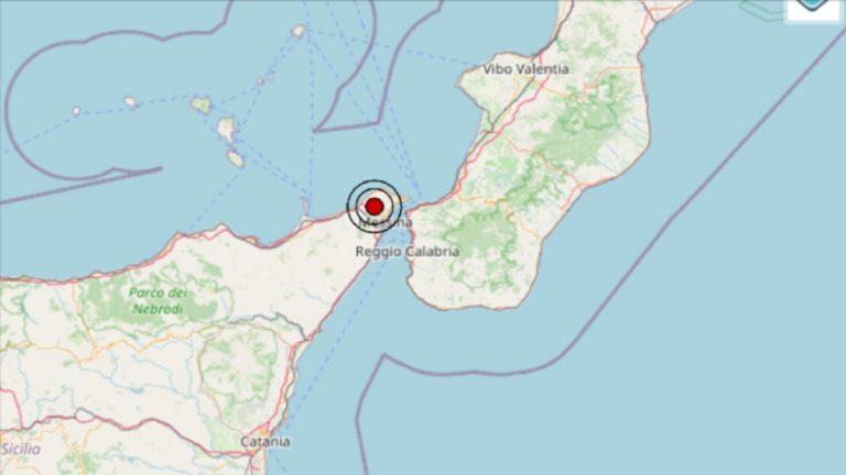 Terremoto in Sicilia oggi, lunedì 6 settembre 2021: scossa M 2.6 in provincia Messina | Dati INGV