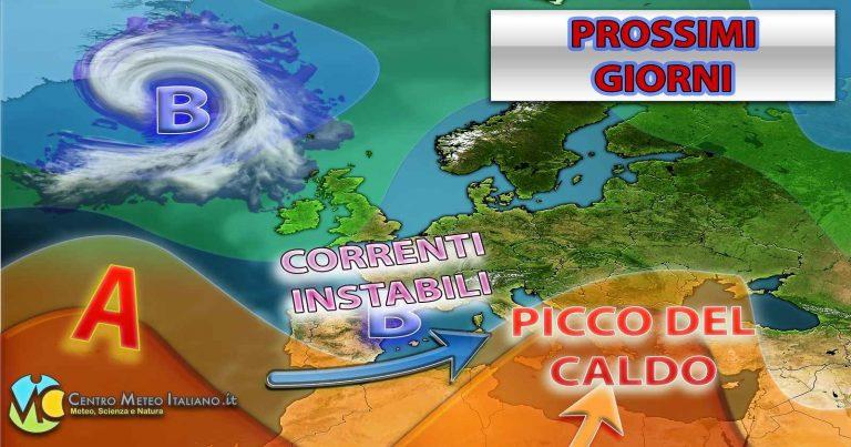 METEO ITALIA: maltempo in vista dopo l'anticiclone africano, ecco gli ultimi aggiornamenti