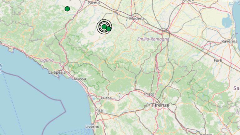 Terremoto in Emilia Romagna oggi, martedì 14 settembre 2021: scossa M 2.6 in provincia di Reggio Emilia – Dati INGV