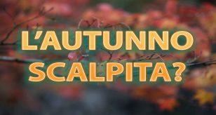 Meteo - affondo autunnale per l'inizio di ottobre
