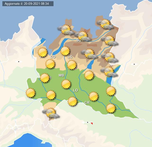 Tempo più stabile e soleggiato nella giornata di domani - Centro Meteo Italiano
