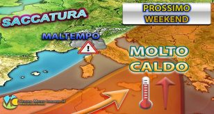 METEO - Nel WEEKEND torna l'ESTATE con TEMPERATURE fino a +35°C, ma occhio a INSIDIA MALTEMPO, i dettagli