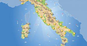 Previsioni meteo in Italia per domani 22 settembre 2021