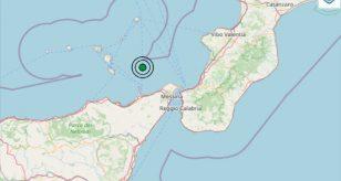 Terremoto oggi in Sicilia