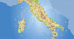 Previsioni meteo in Italia per domani 28 settembre 2021