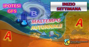 METEO - Possibile RUGGITO dell'AUTUNNO in arrivo con MALTEMPO, NUBIFRAGI e CROLLO TERMICO, i dettagli