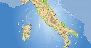 Previsioni meteo in Italia per domani 1 ottobre 2021