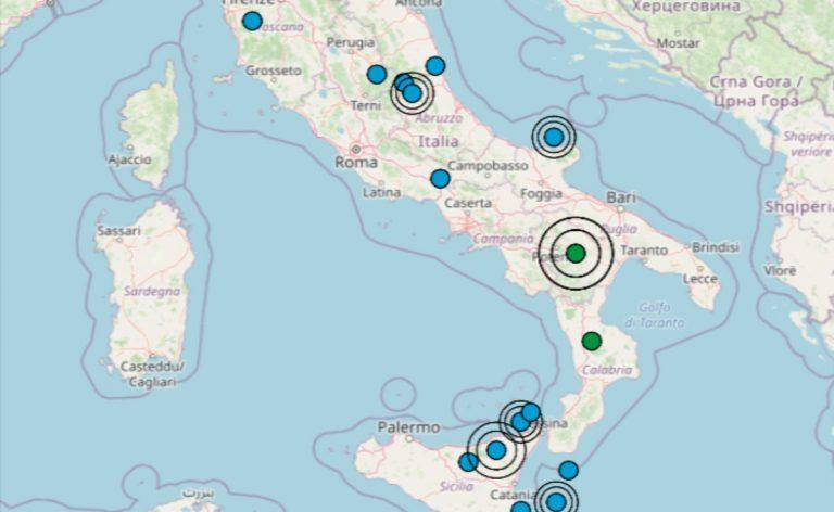 Terremoto oggi Italia, 11 ottobre 2021: le ultime scosse registrate – Dati INGV