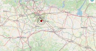 Terremoto oggi in Lombardia