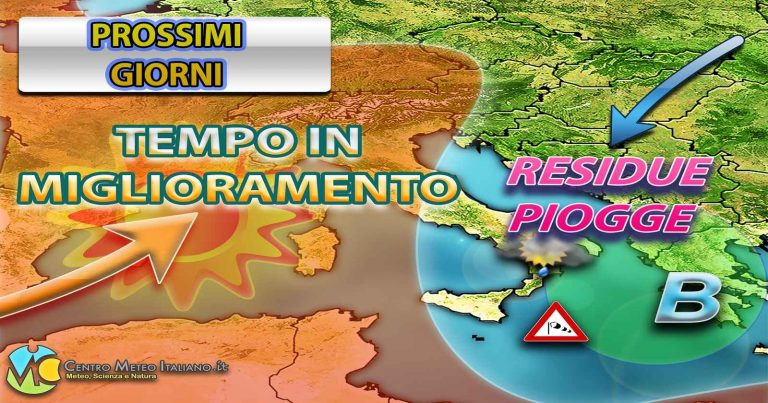 METEO – Altro MALTEMPO in arrivo sull'ITALIA, ma soprattutto FREDDO: giù le TEMPERATURE, i dettagli