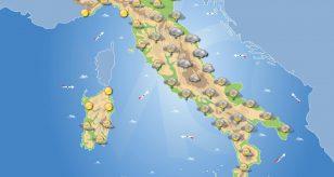 Previsioni meteo in Italia per domani 22 ottobre 2021