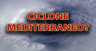 METEO - CICLONE MEDITERRANEO in arrivo, rischio NUBIFRAGI per l'ITALIA: ecco dove e quando